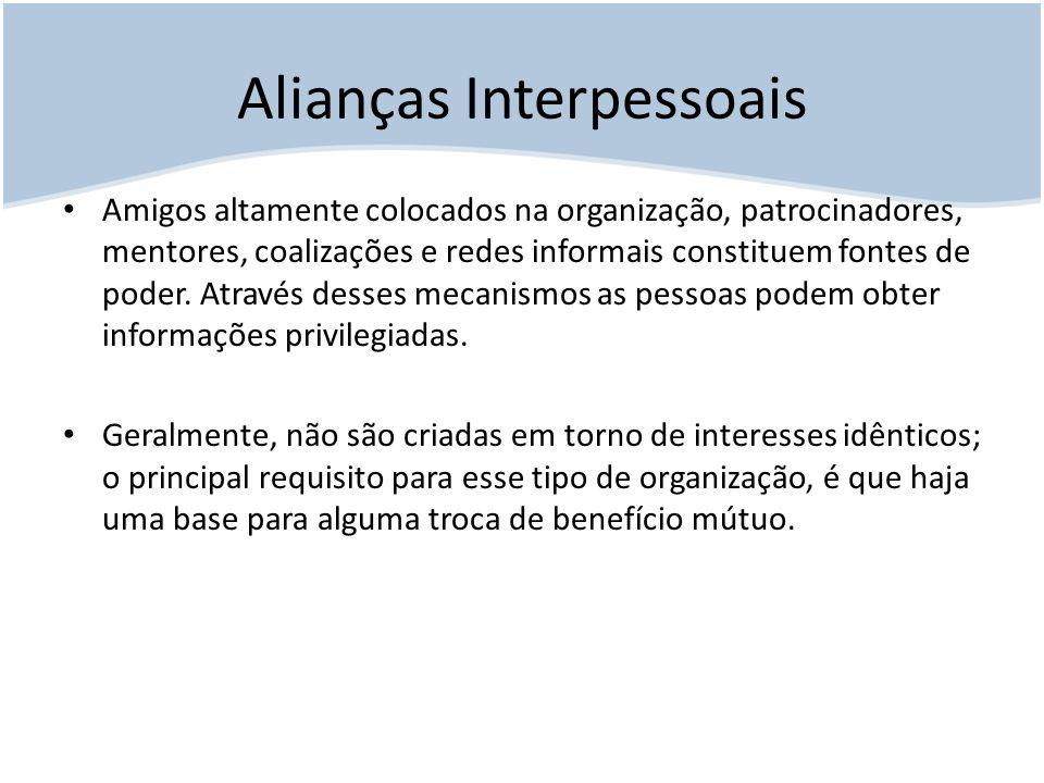 Alianças Interpessoais