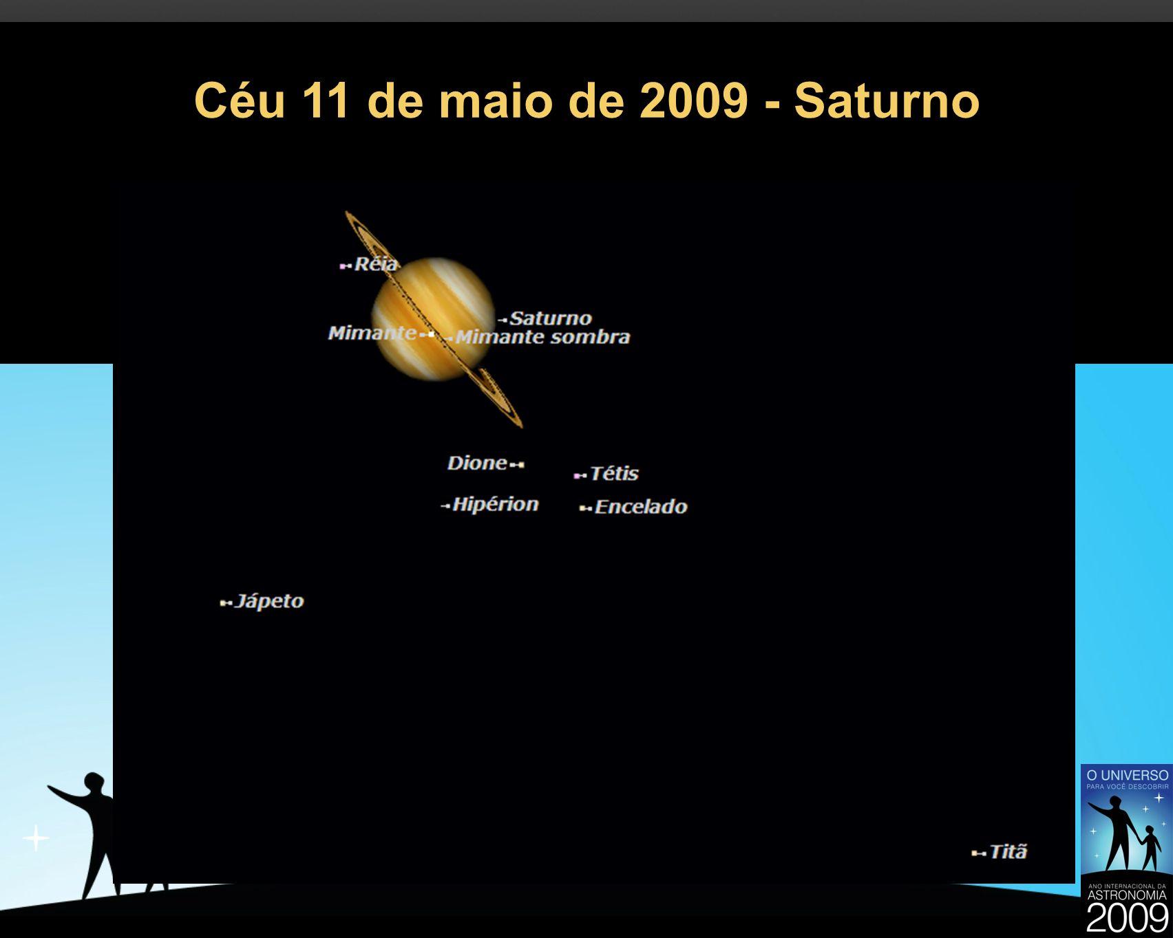 Céu 11 de maio de 2009 - Saturno 34