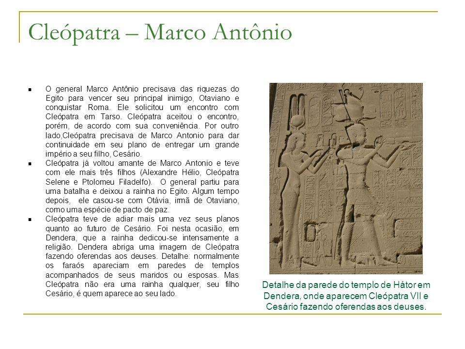 Cleópatra – Marco Antônio