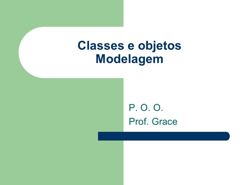 Classes e objetos Modelagem
