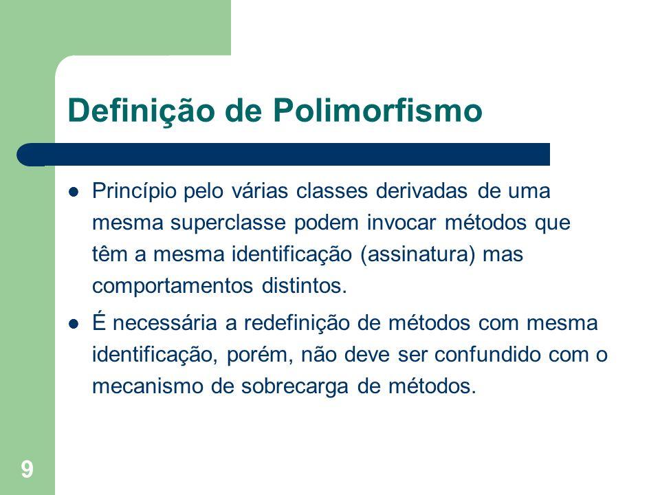 Definição de Polimorfismo