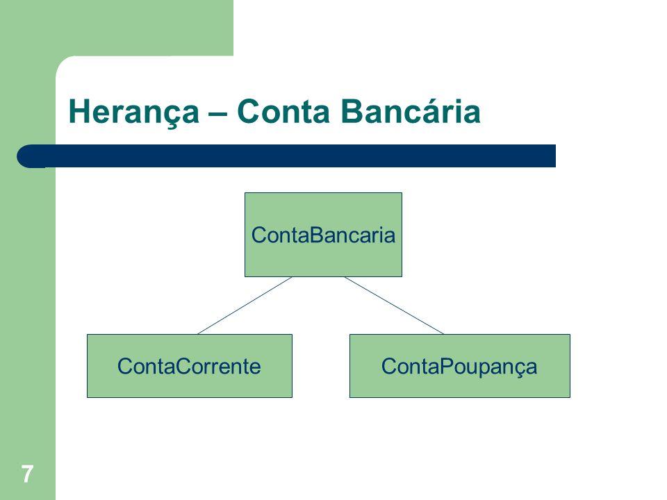 Herança – Conta Bancária