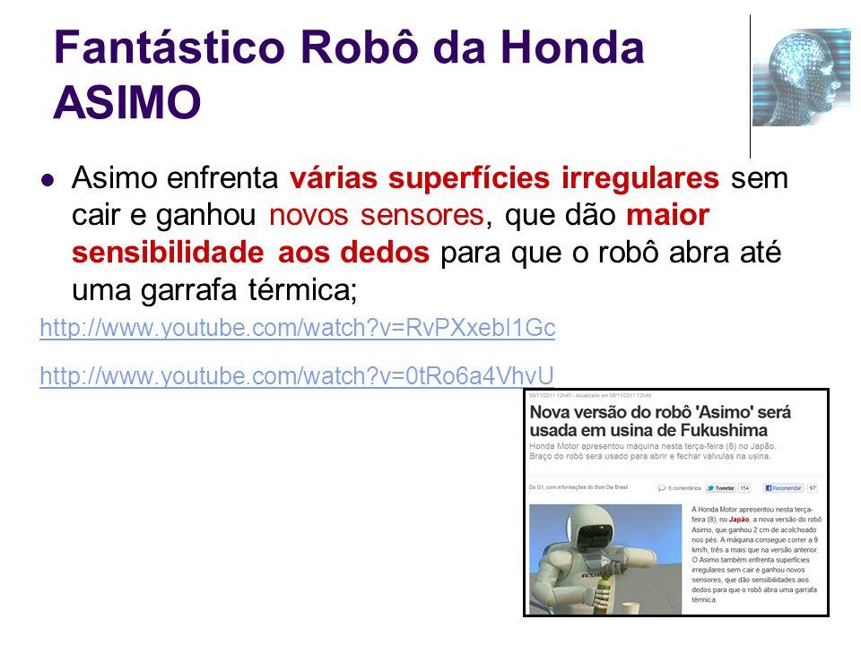Fantástico Robô da Honda ASIMO