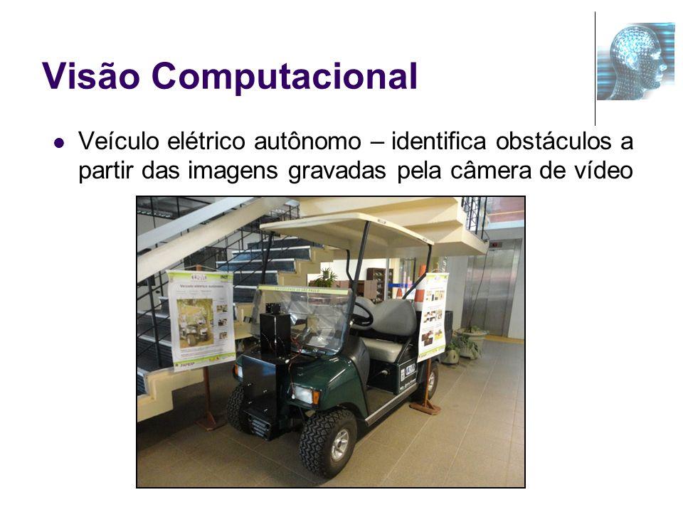Visão Computacional Veículo elétrico autônomo – identifica obstáculos a partir das imagens gravadas pela câmera de vídeo.