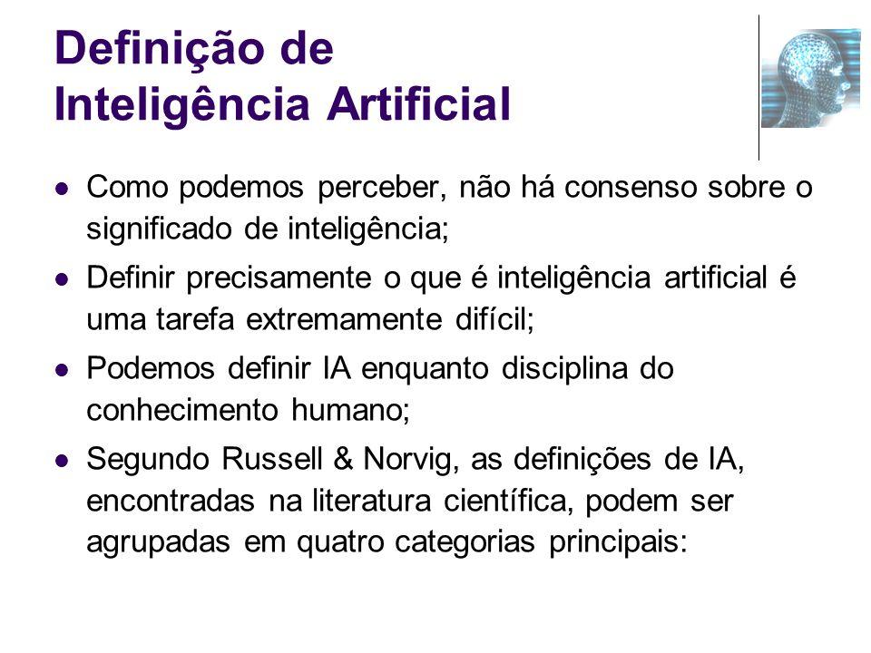 Definição de Inteligência Artificial