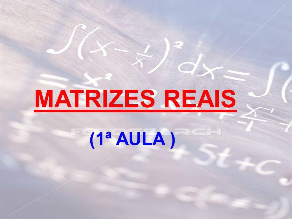 MATRIZES REAIS (1ª AULA )