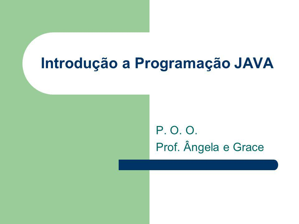 Introdução a Programação JAVA