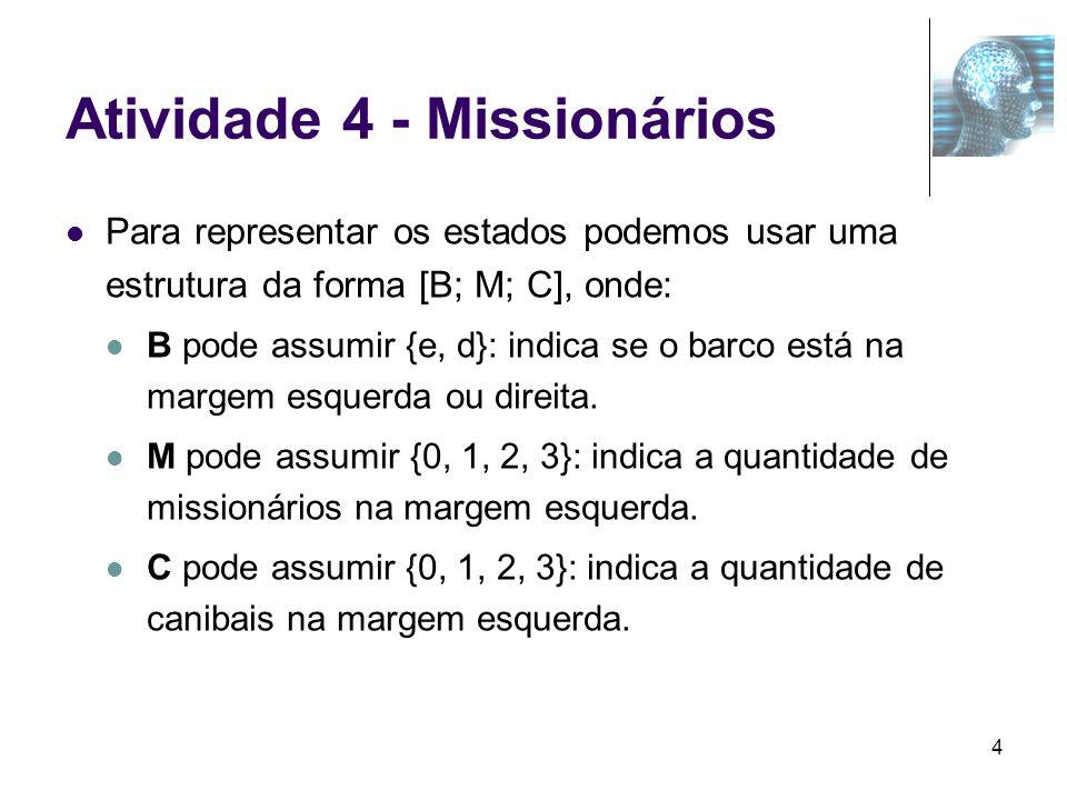 Atividade 4 - Missionários