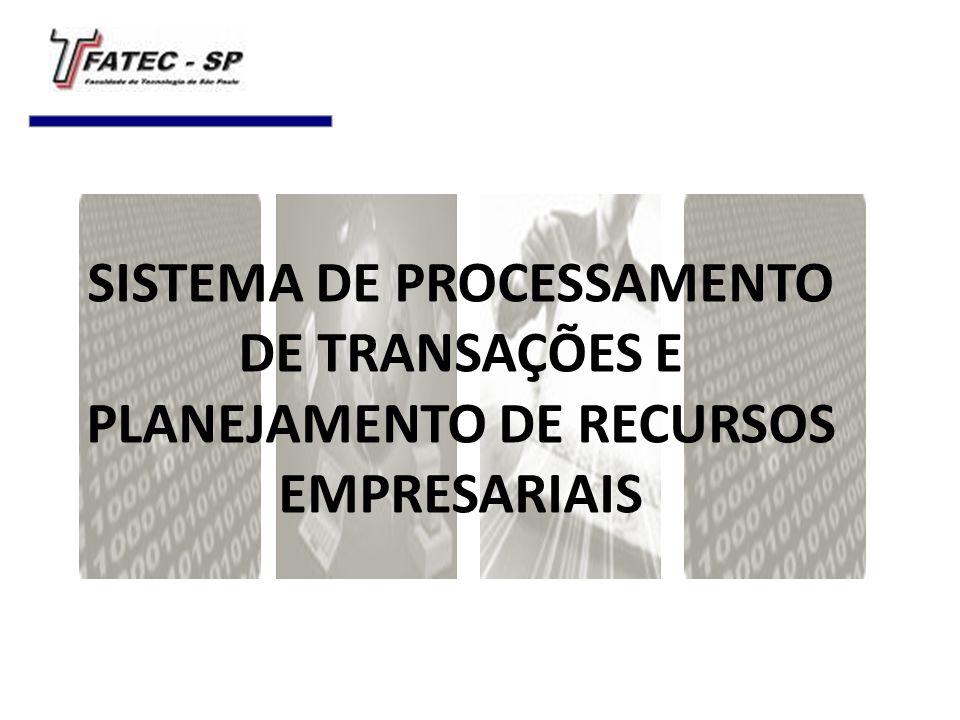 SISTEMA DE PROCESSAMENTO DE TRANSAÇÕES E PLANEJAMENTO DE RECURSOS EMPRESARIAIS