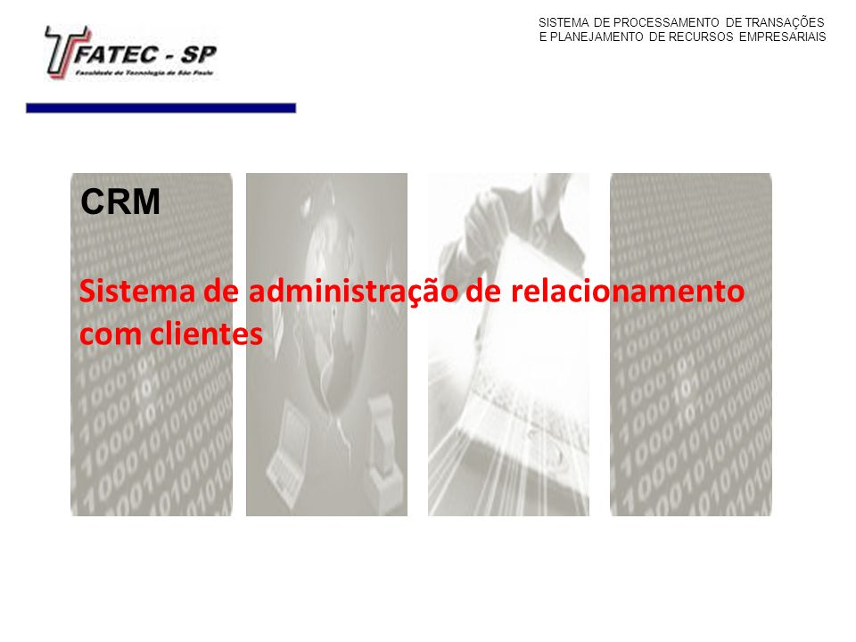 Sistema de administração de relacionamento com clientes