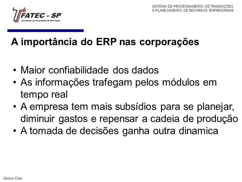 A importância do ERP nas corporações