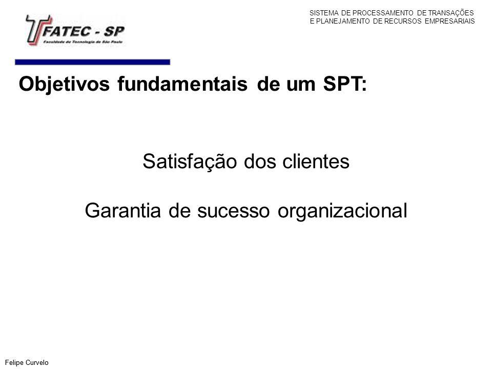 Objetivos fundamentais de um SPT: