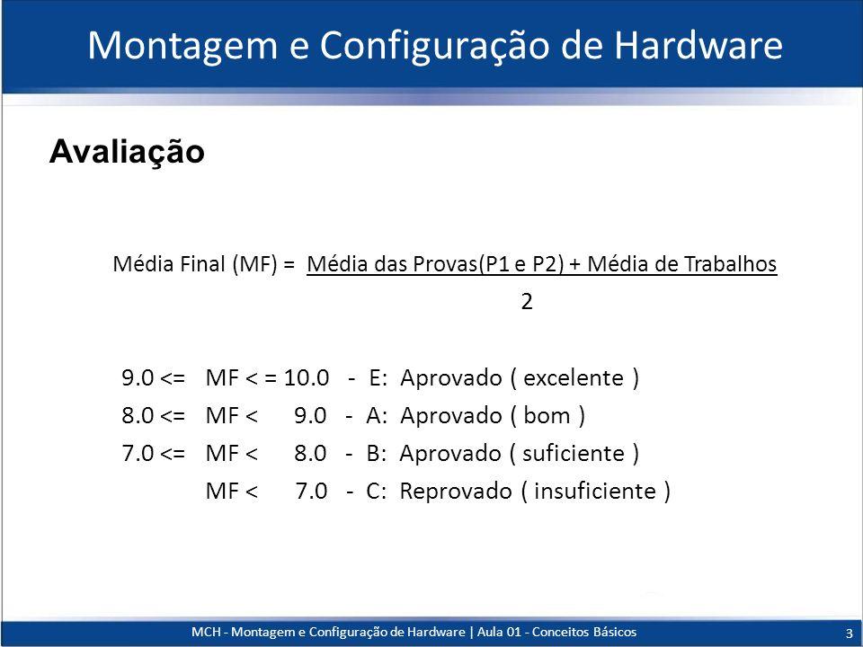 Montagem e Configuração de Hardware