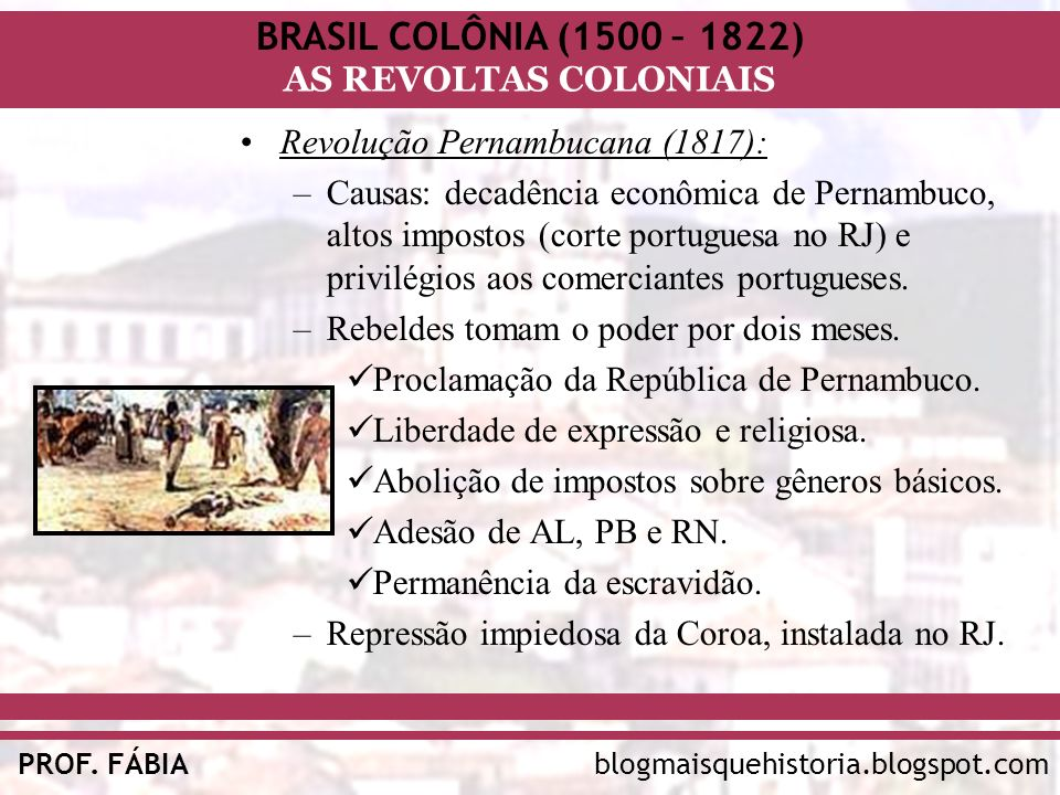 Revolução Pernambucana (1817):