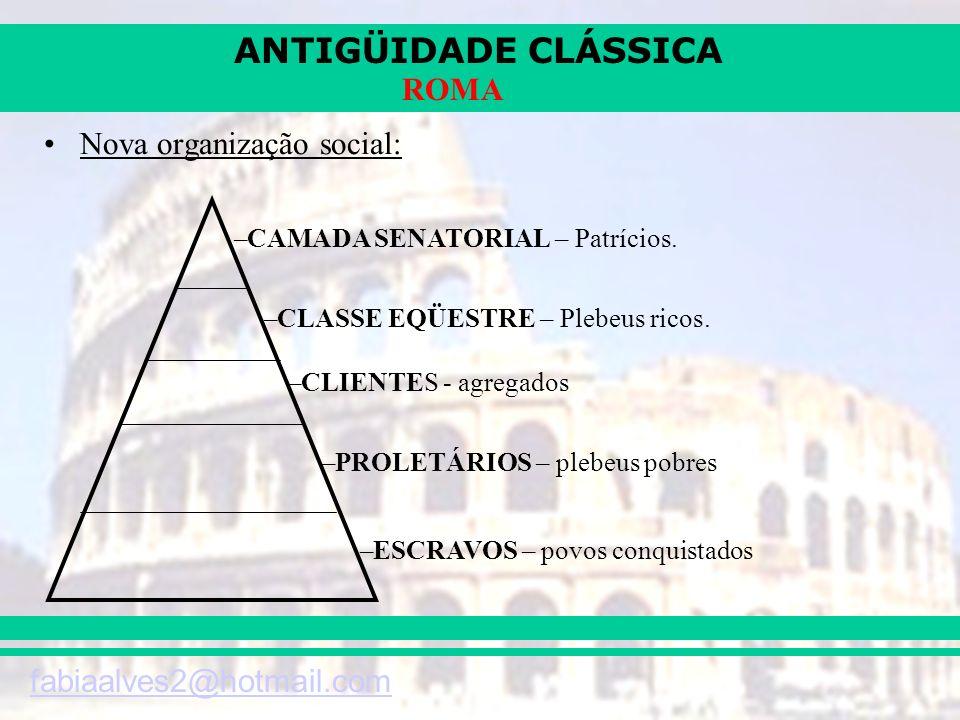 Nova organização social: