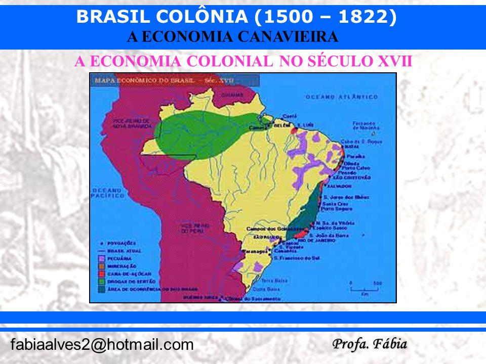 A ECONOMIA COLONIAL NO SÉCULO XVII