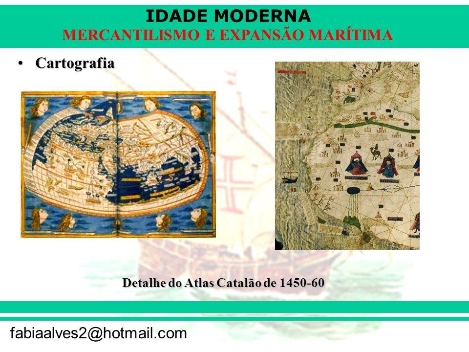 Cartografia Detalhe do Atlas Catalão de 1450-60