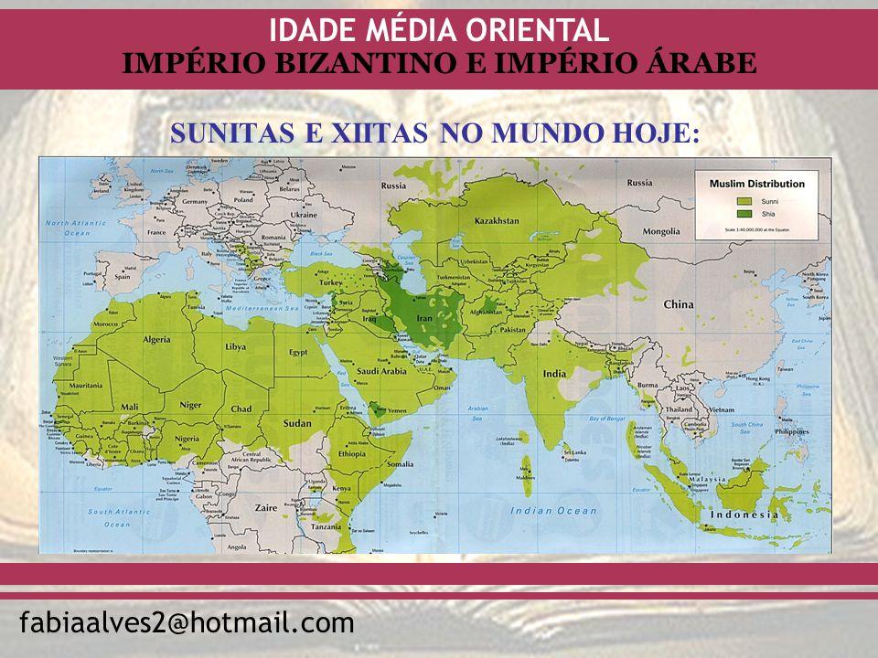 SUNITAS E XIITAS NO MUNDO HOJE: