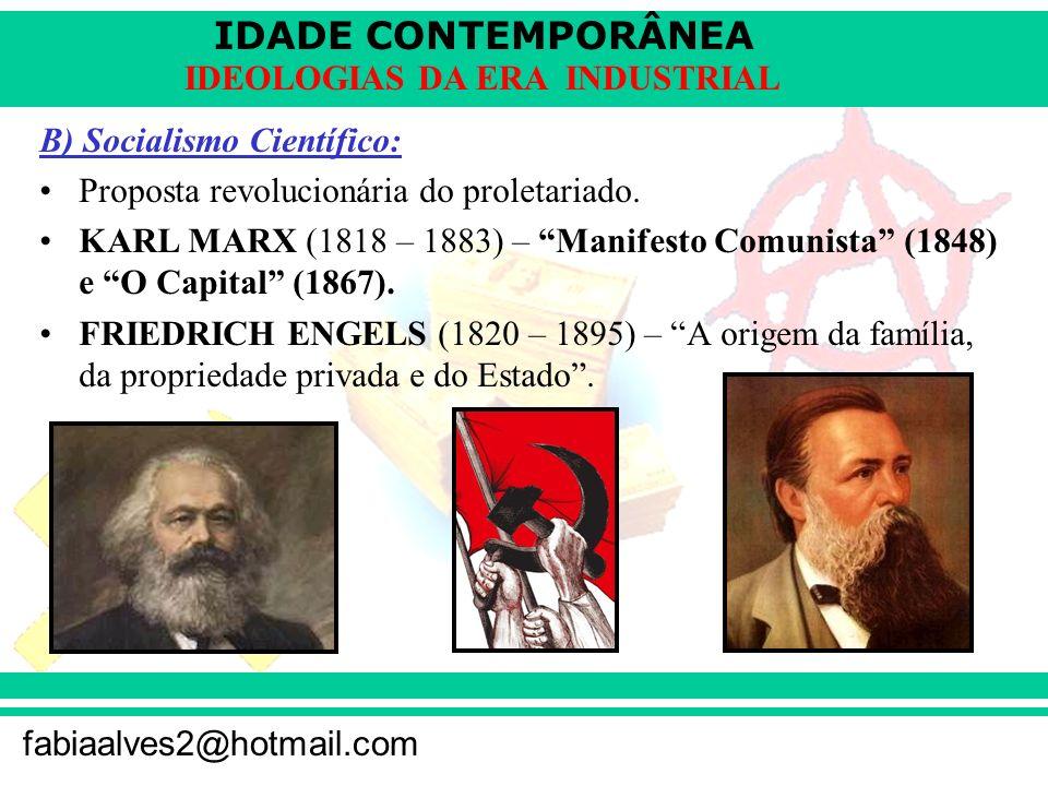 B) Socialismo Científico: