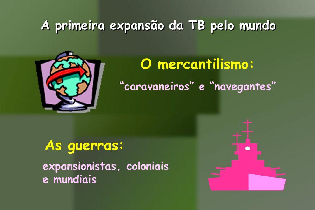 A primeira expansão da TB pelo mundo