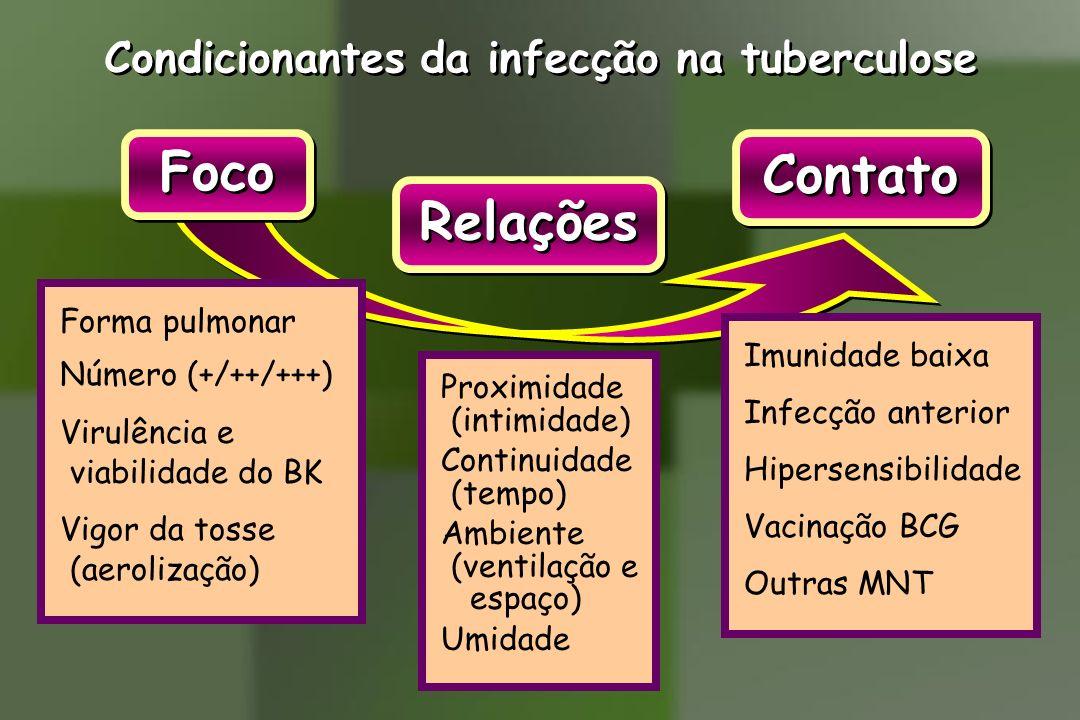 Condicionantes da infecção na tuberculose