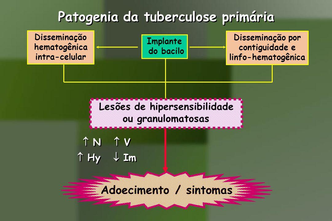 Lesões de hipersensibilidade Adoecimento / sintomas