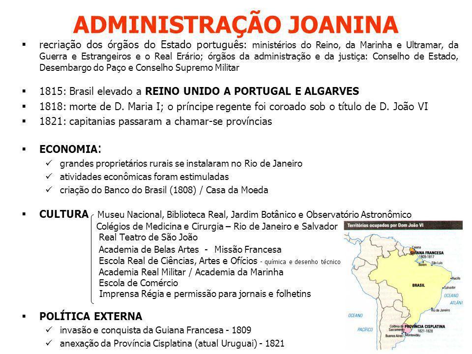 ADMINISTRAÇÃO JOANINA
