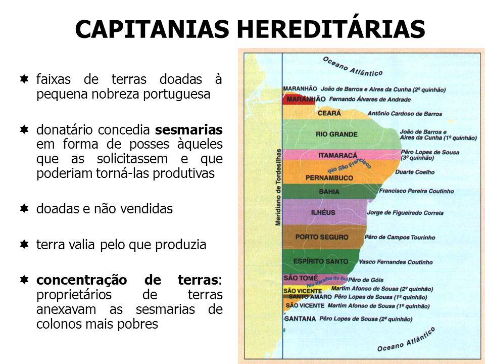 CAPITANIAS HEREDITÁRIAS