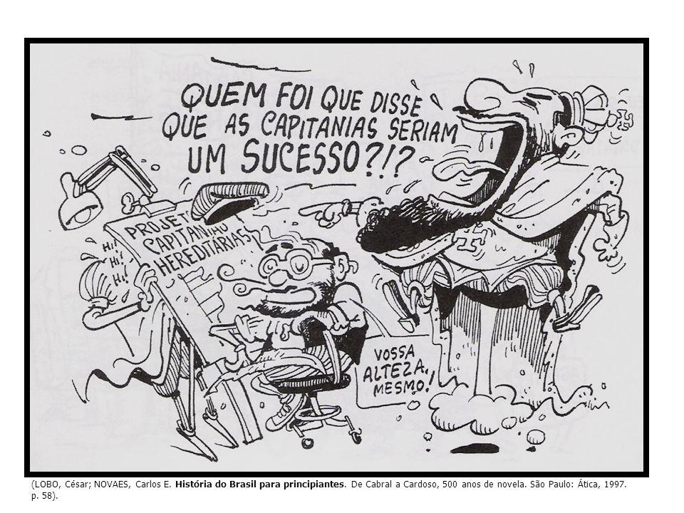 (LOBO, César; NOVAES, Carlos E. História do Brasil para principiantes