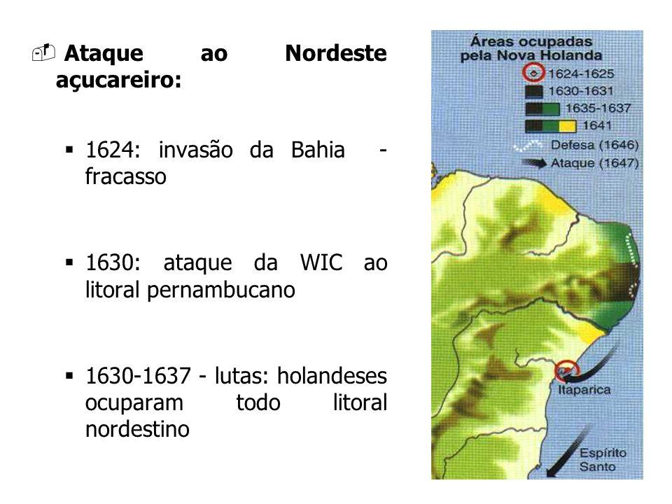 Ataque ao Nordeste açucareiro: