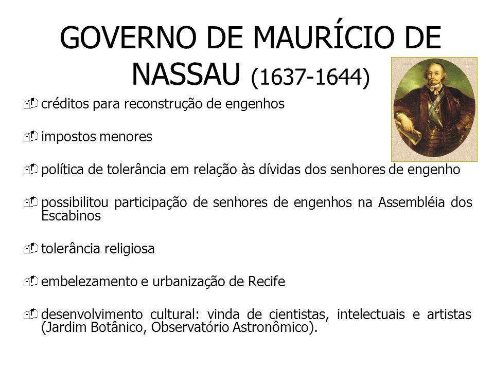GOVERNO DE MAURÍCIO DE NASSAU (1637-1644)