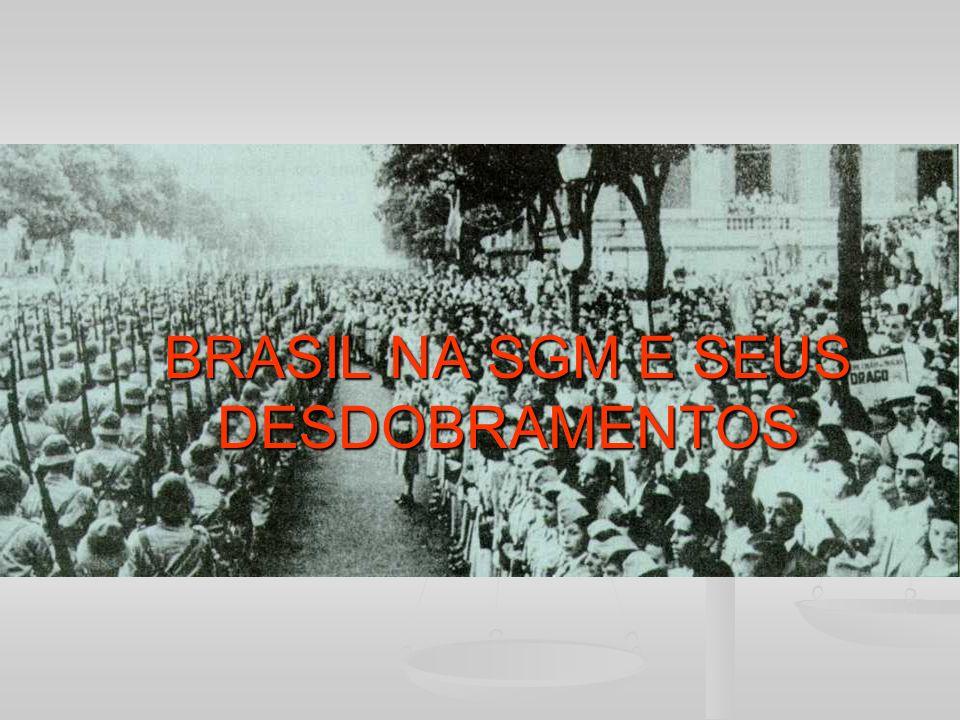 BRASIL NA SGM E SEUS DESDOBRAMENTOS