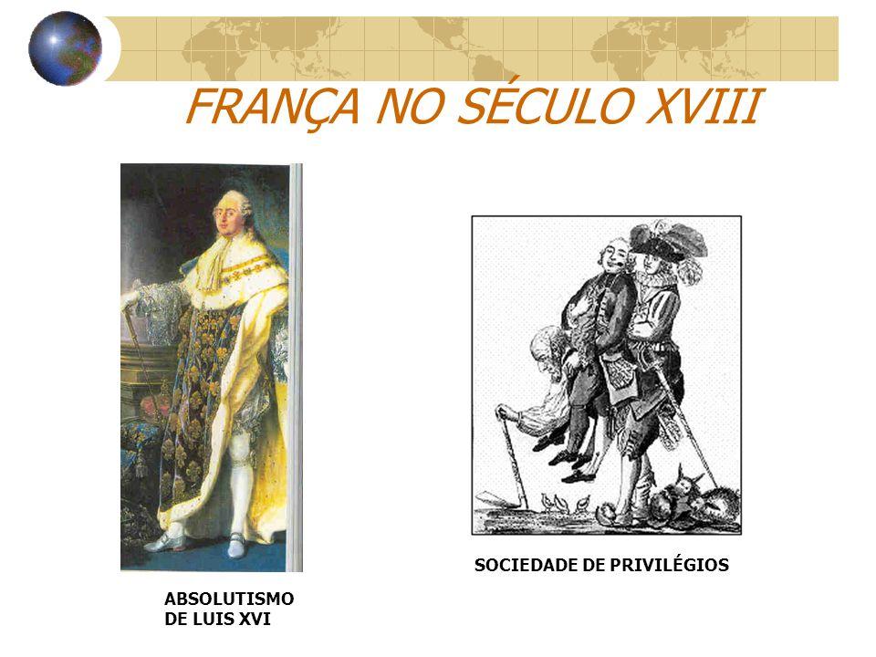 FRANÇA NO SÉCULO XVIII SOCIEDADE DE PRIVILÉGIOS
