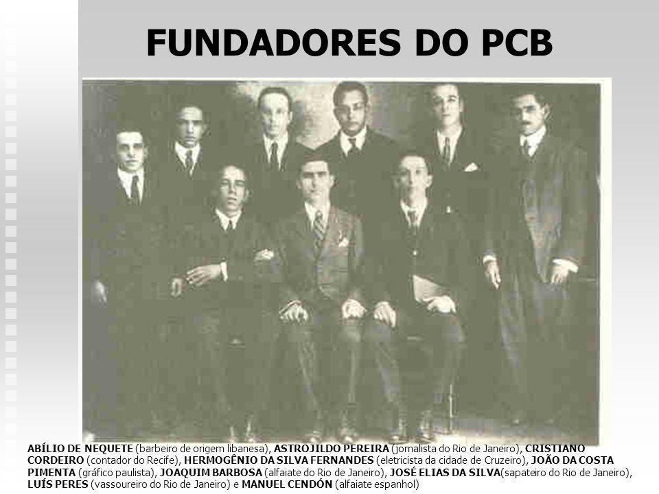 FUNDADORES DO PCB