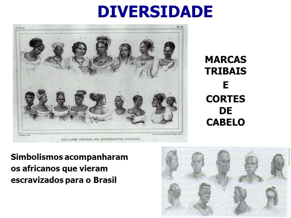 DIVERSIDADE MARCAS TRIBAIS E CORTES DE CABELO Simbolismos acompanharam