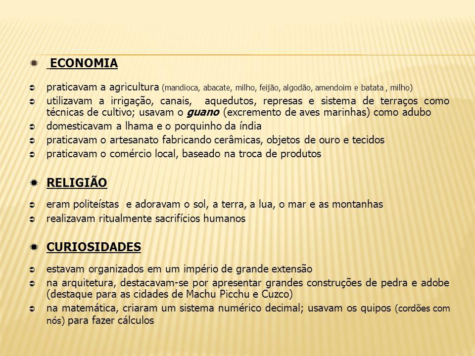 ECONOMIA RELIGIÃO CURIOSIDADES
