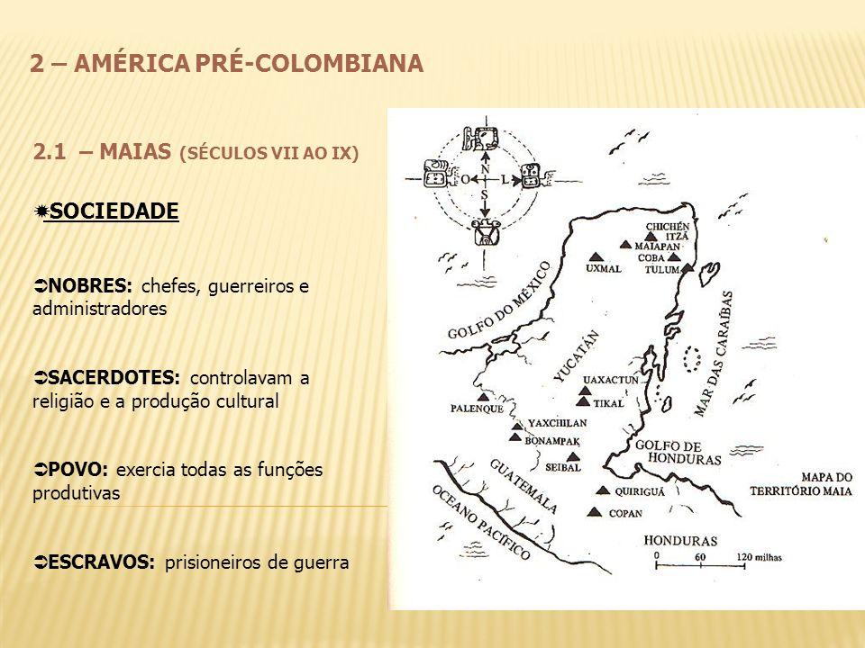 2 – AMÉRICA PRÉ-COLOMBIANA