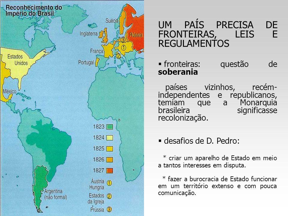 UM PAÍS PRECISA DE FRONTEIRAS, LEIS E REGULAMENTOS