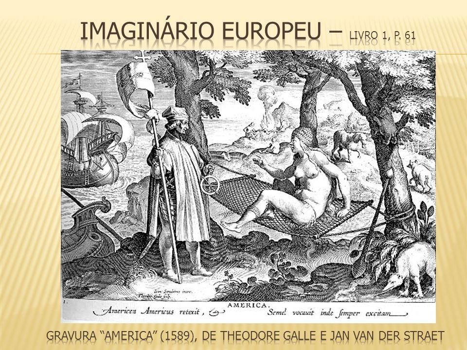 Gravura America (1589), de Theodore Galle e Jan van der Straet
