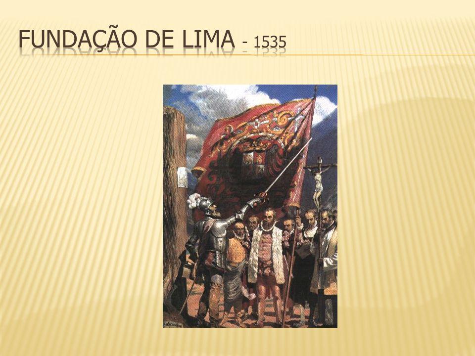 fundação de Lima - 1535 8