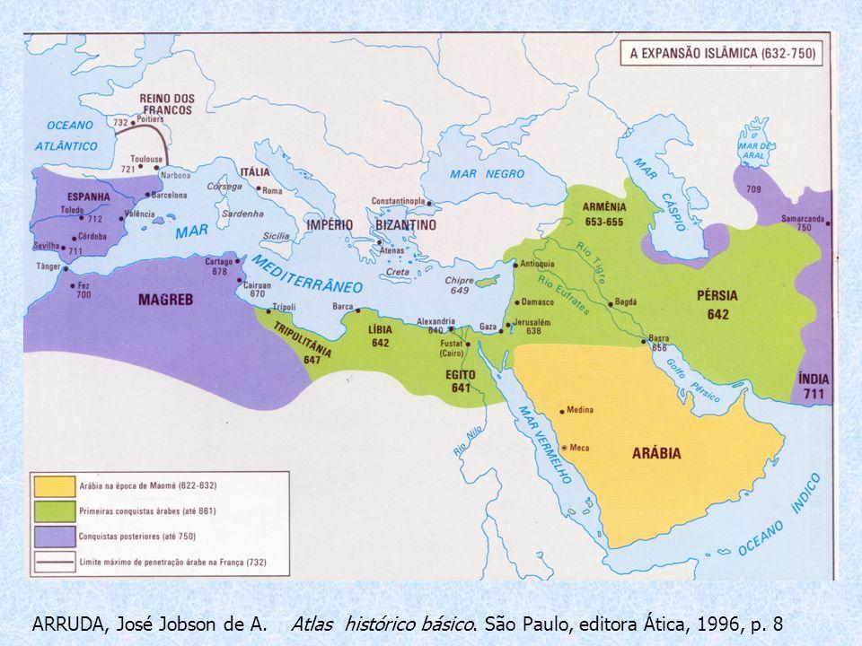 ARRUDA, José Jobson de A. Atlas histórico básico