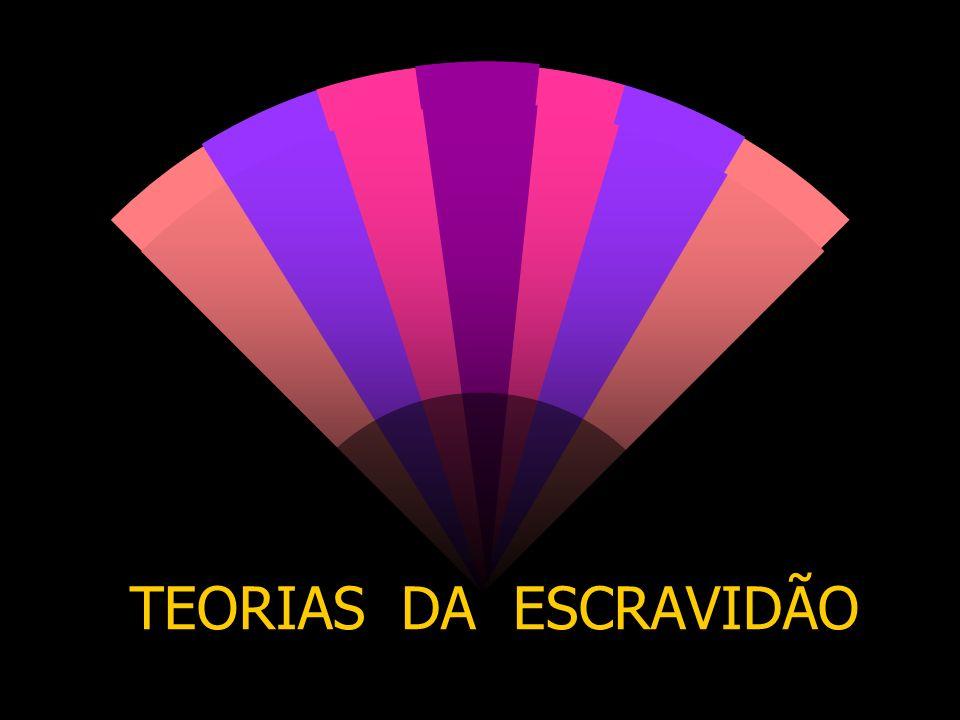 TEORIAS DA ESCRAVIDÃO