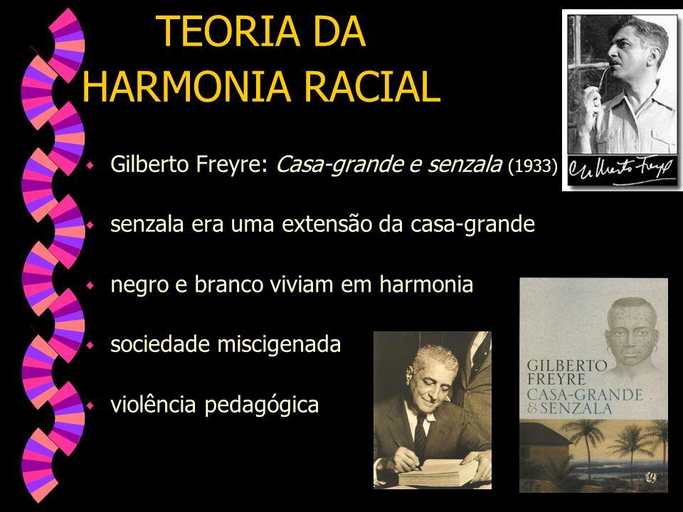 TEORIA DA HARMONIA RACIAL