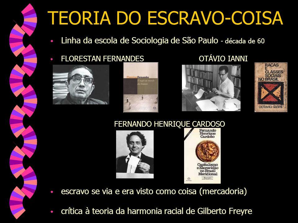 TEORIA DO ESCRAVO-COISA