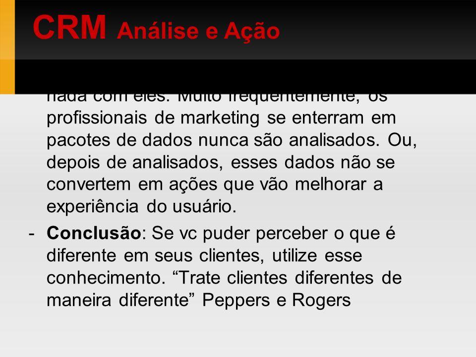CRM Análise e Ação
