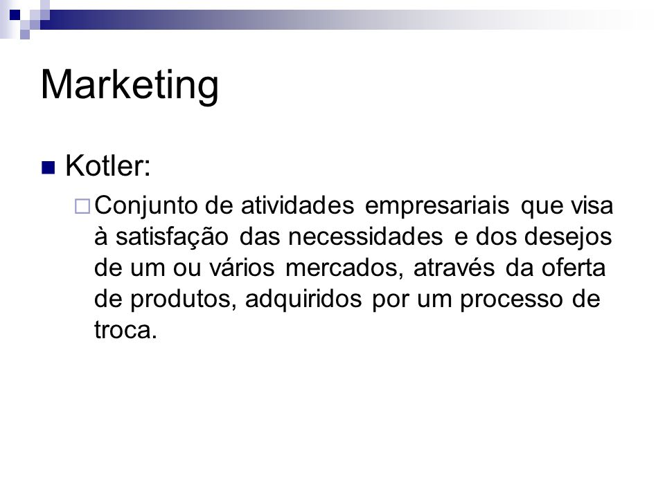 Marketing Kotler: