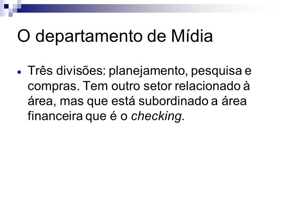 O departamento de Mídia