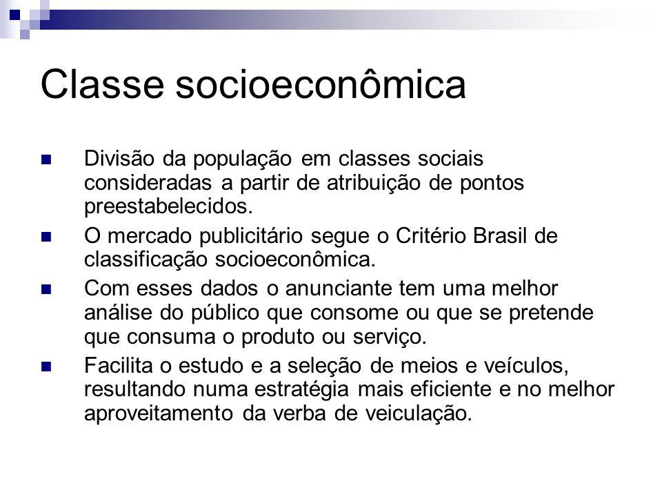 Classe socioeconômica