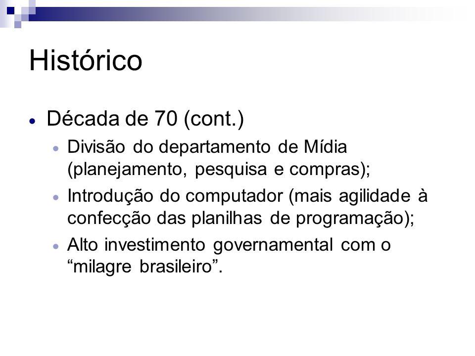 Histórico Década de 70 (cont.)
