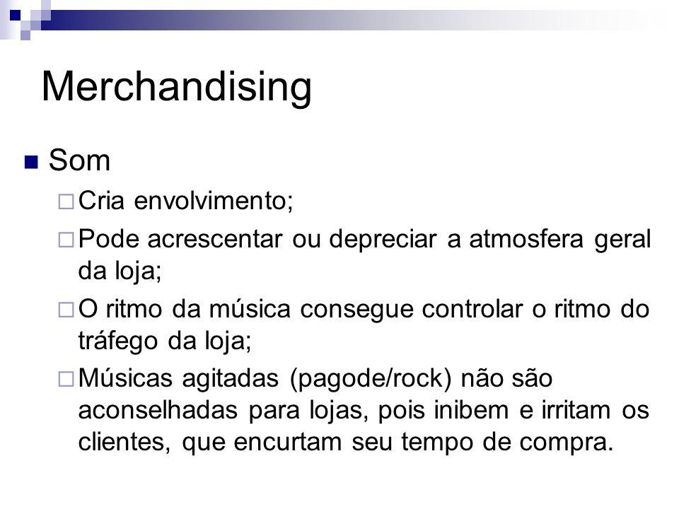 Merchandising Som Cria envolvimento;